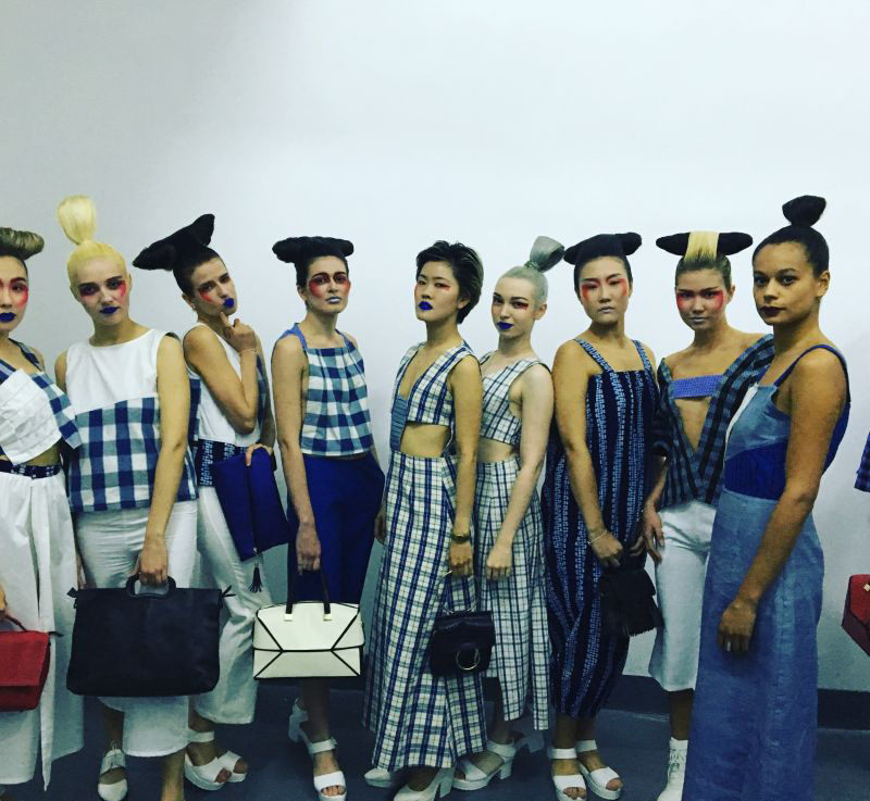 Young designers in Shanghai choose eco-designs over traditional fashion
